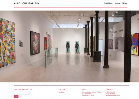 Allouche responsive website design