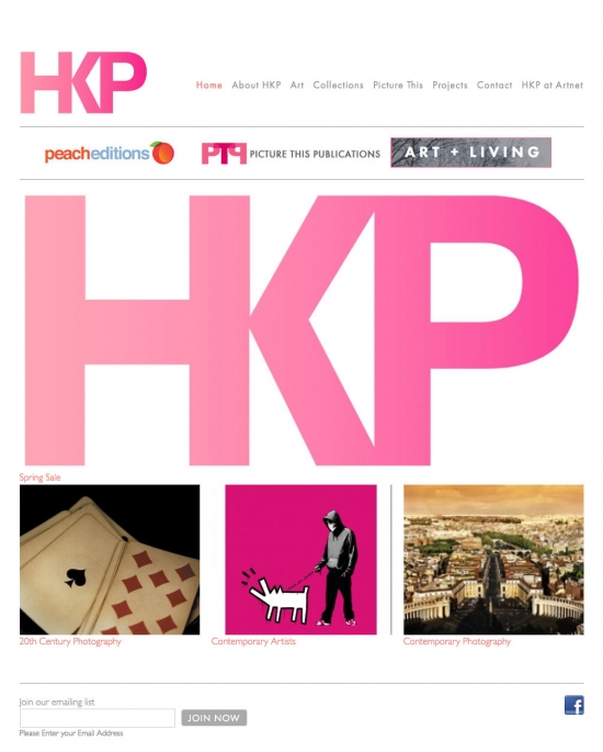 Hamburg Kennedy Photographs website