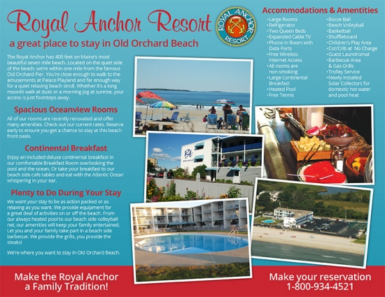 Royal Anchor Resort Brochure inside
