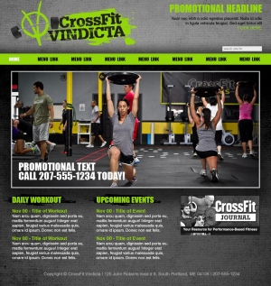 CrossFit Vindicta website