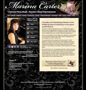Marina Carter - Vermont Piano Music website