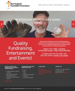 Responsive website design for NECP