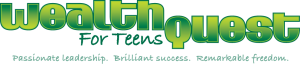 wealthquest for teens logo design